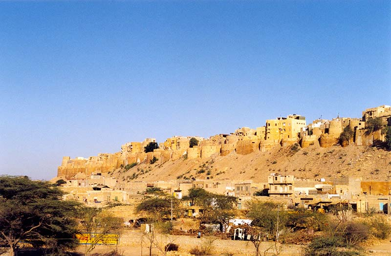 Travel India.Jaisalmer.Fort
