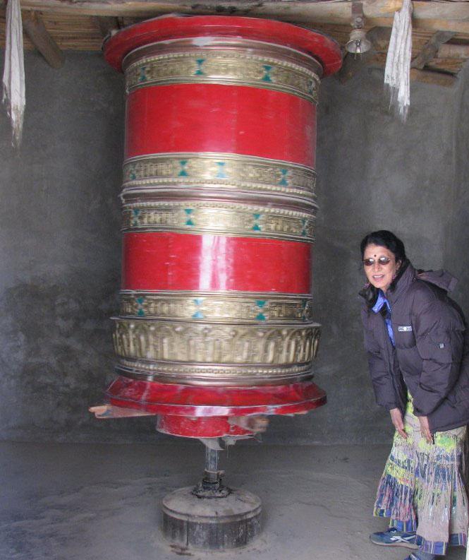 Travel India.Leh.Lamasaru Monastery