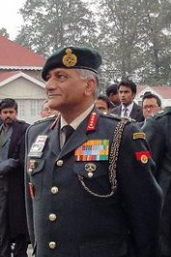General V K Singh